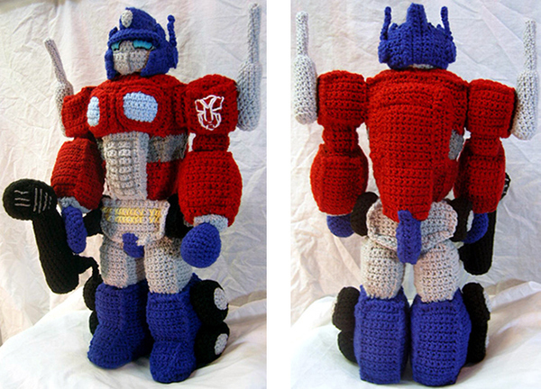 Optimus Prime Crochet