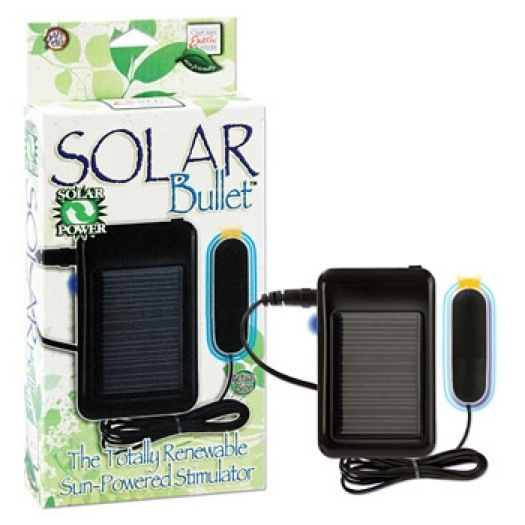 Solar-Powered Vibrator