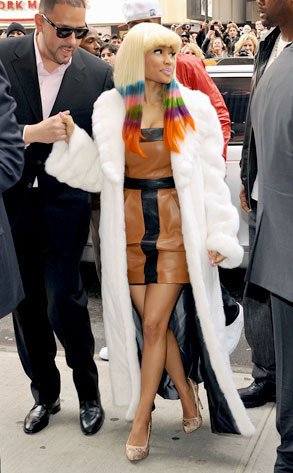 Nicki Minaj's Sno Cone Hair