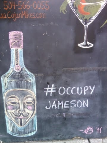 A Bar Is Pushing My #OccupyWallStreet Alternative