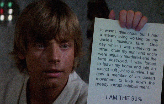 #OccupyTatooine
