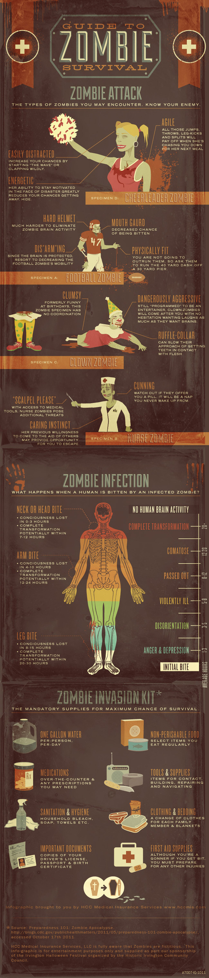 Zombie Survival Guide [Infographic]
