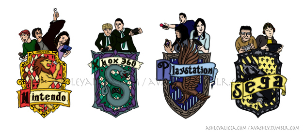 Video Game Houses Of Harry Potter