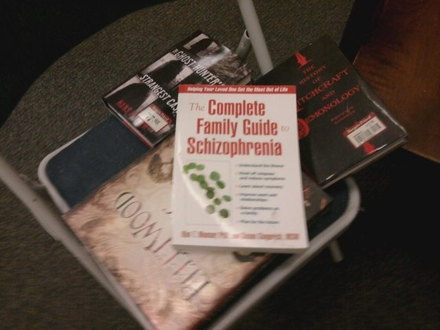 This Is Not A Good Pile To Find This Book In