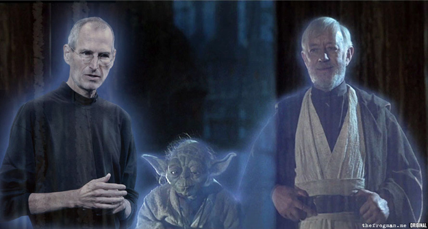 Steve Jobs Is A Jedi Spirit