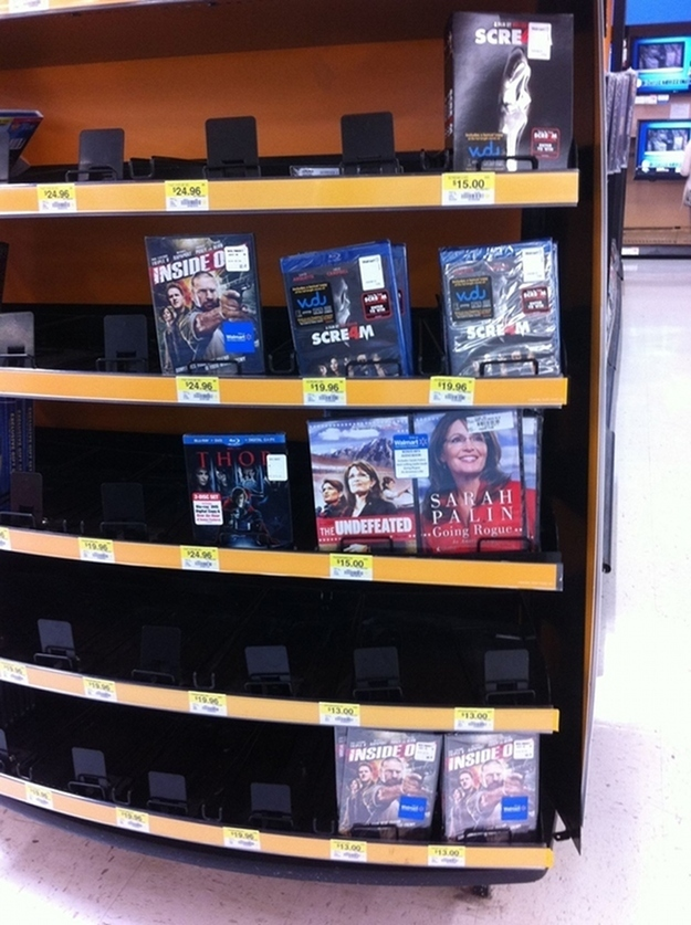 Proof That We Don't Like Sarah Palin In The South