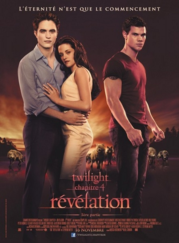 French Poster For Twilight: Breaking Dawn, Part 1