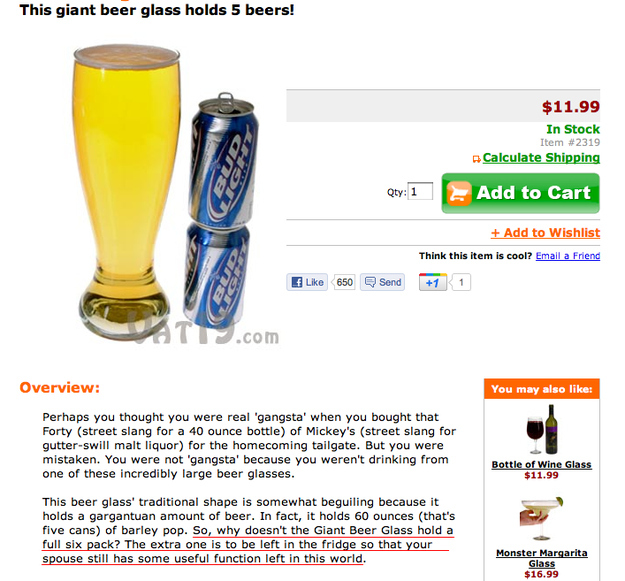The Ultimate Beer Glass