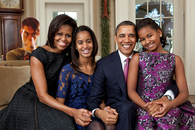 Happy Holidays From Stefon And The Obamas