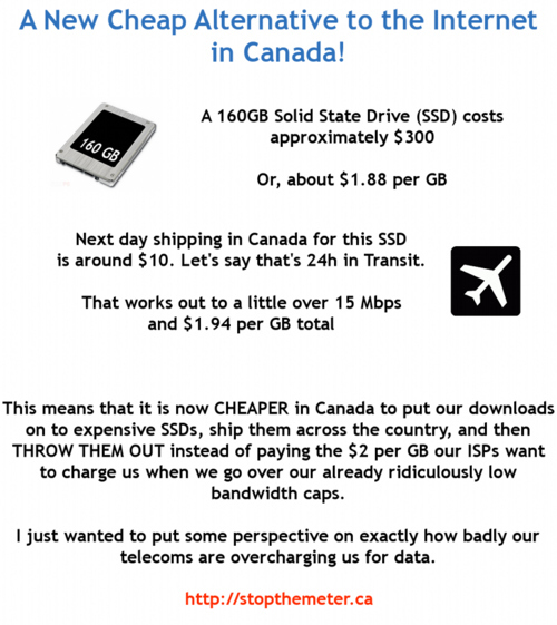 A Cheap Alternative To Canada's Expensive Internet