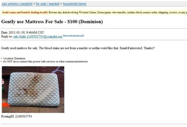Gently Used Mattress