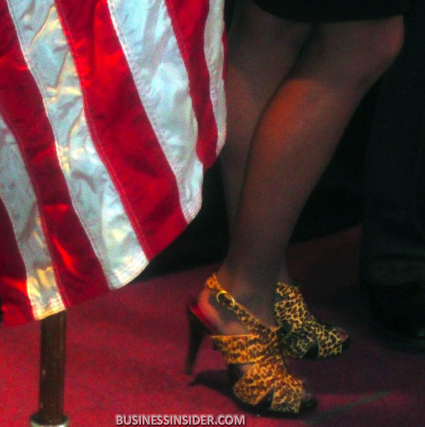 Sarah Palin's Amazing Shoes