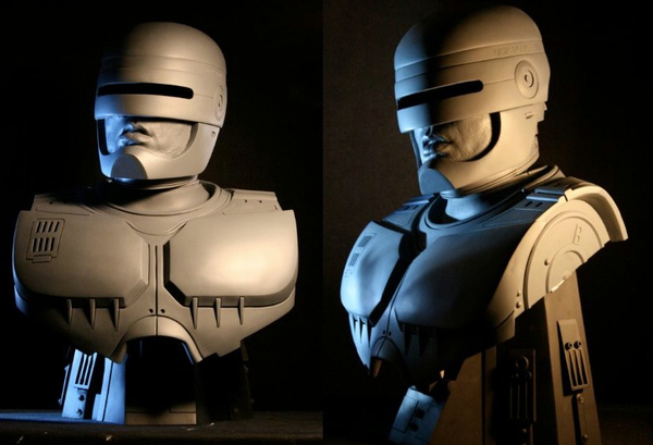 First Look At The RoboCop Statue