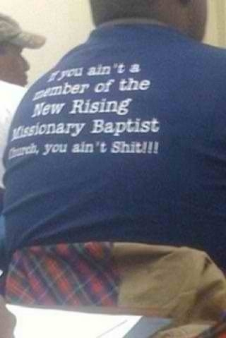 Is This The Greatest Christian T-Shirt Ever?