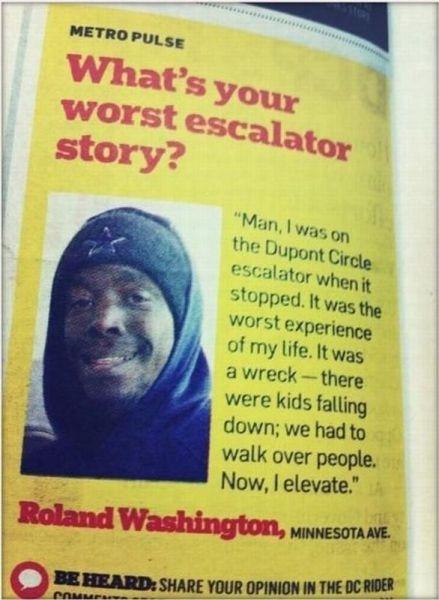 Ronald Washington Elevates