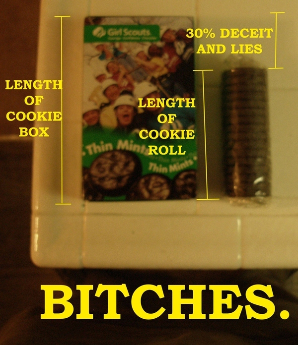 Girl Scout Cookie Racket