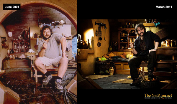 Peter Jackson Then And Now