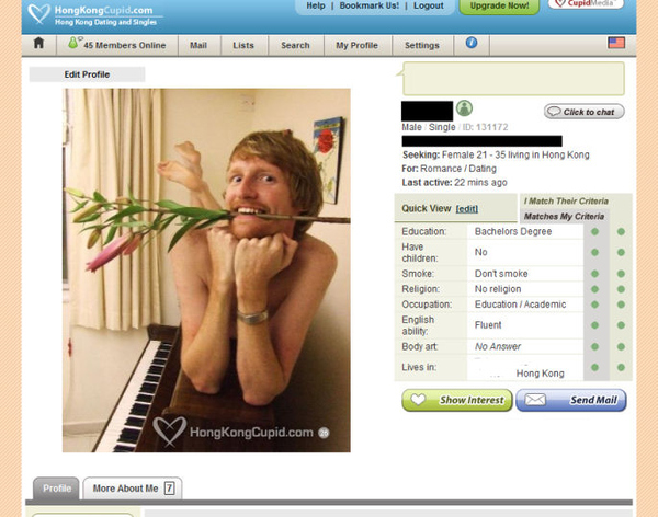 Best Online Dating Profile Ever