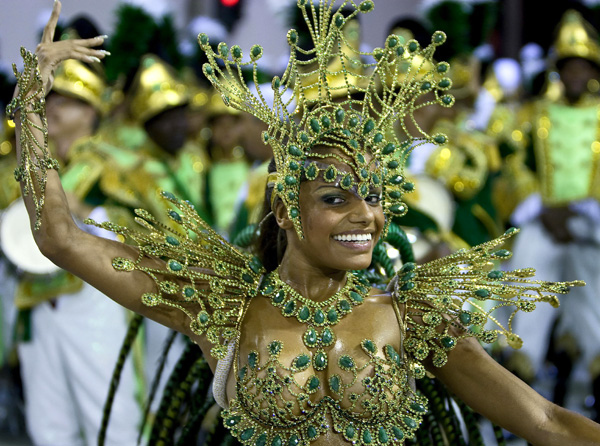 It is Time to Carnival - Rio De Janeiro