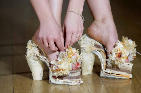 Cheese Shoes