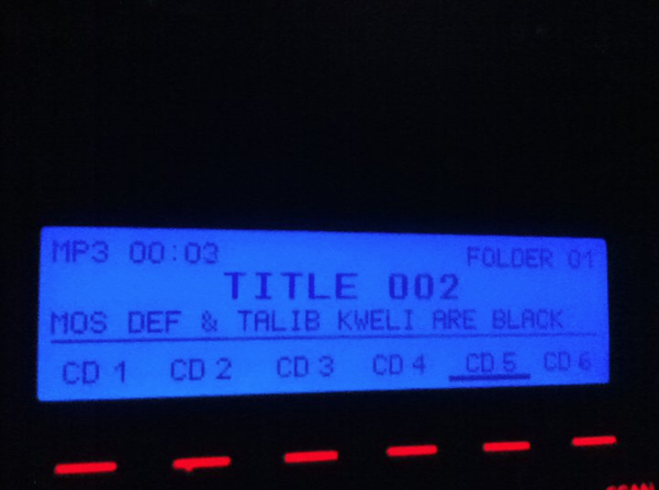 Thank You For Pointing That Out, Car Stereo