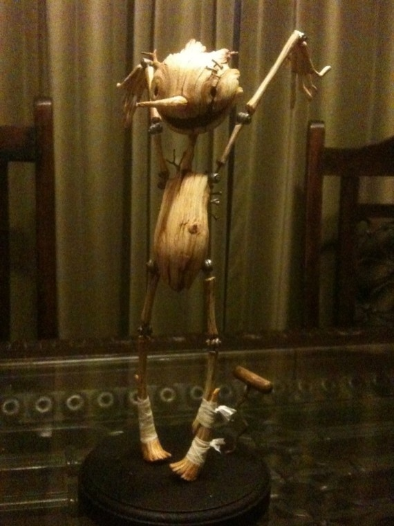 First Look: New Pinocchio Puppet