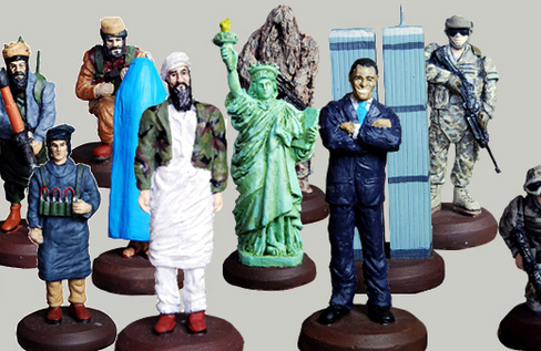The Most Patriotic Chess Set