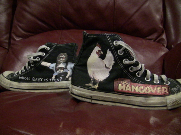 Pure Genius: The Hangover Shoes