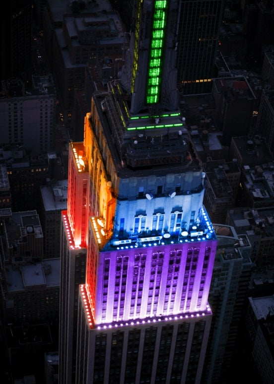 Tonight NYC admits that LGBT couples deserve equal rights! Six states down, forty-four to go!
