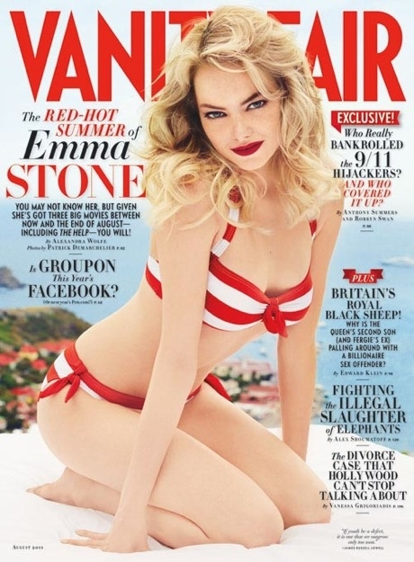 Emma Stone On The Cover Of Vanity Fair