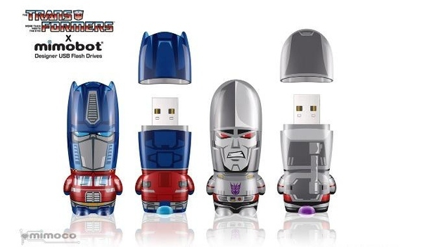Transformers USB Flash Drives By Mimobot