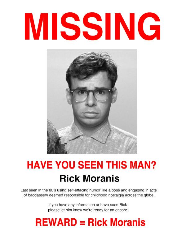 Missing: Rick Moranis