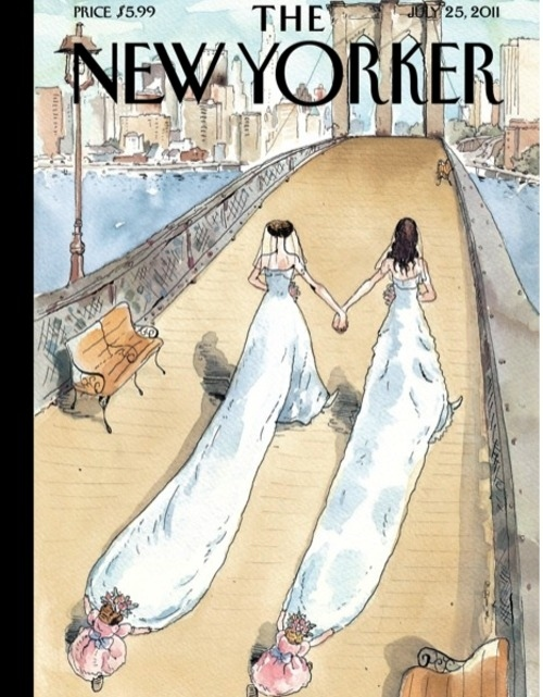 The New Yorker Celebrates Gay Marriage In NYC