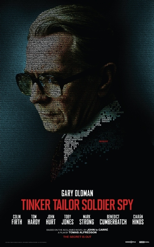 'Tinker Tailor Soldier Spy' Poster