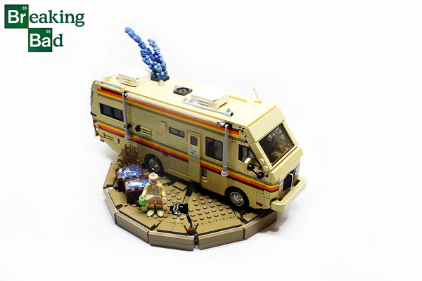 LEGO Breaking Bad RV Model