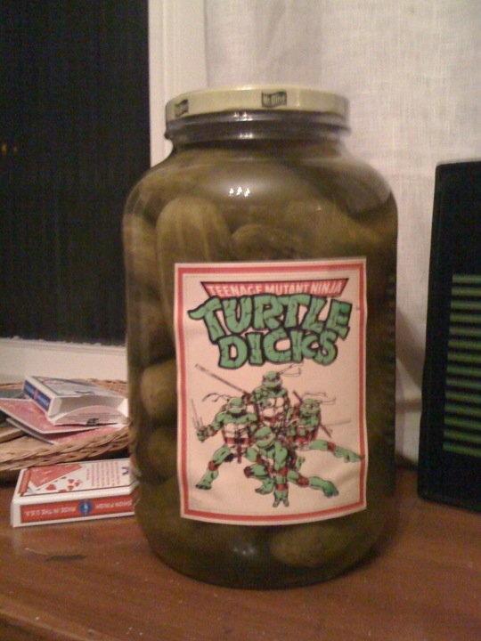 Teenage Mutant Ninja Pickles [NSFW]