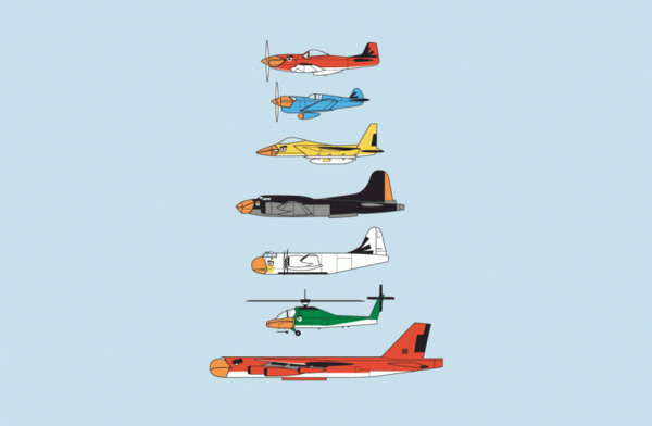 The Angry Birds As Fighter Jets*