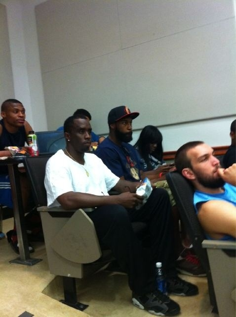 NBA Players (And P Diddy?) Go Back To School During The Lockout