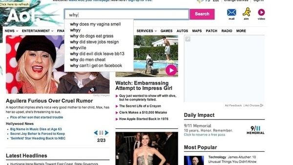 "What Happens When You Search ""Why"" On Aol"
