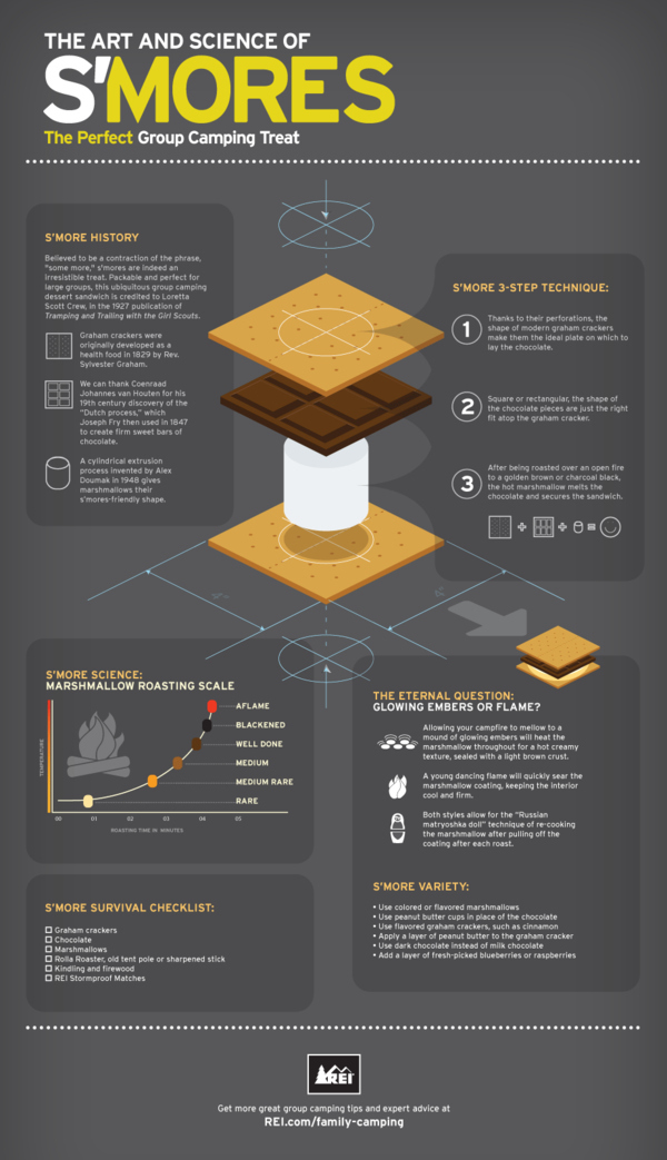 The Art And Science Of S'mores [Infographic]