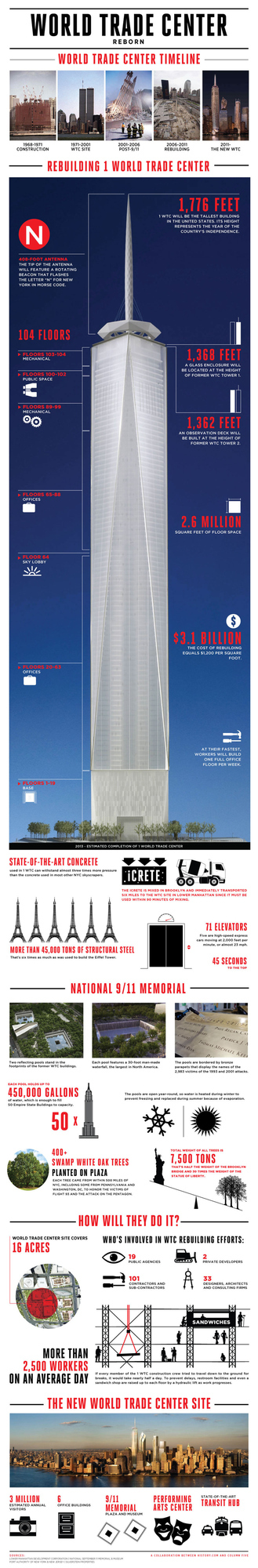 World Trade Center Reborn [Infographic]