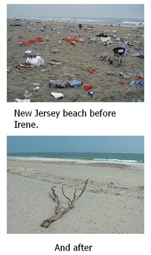 Jersey Shore Devastated After Hurricane Irene