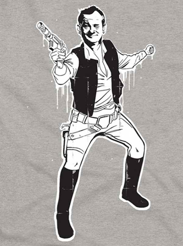Bill Murray Is Han Solo
