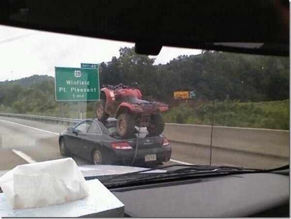 Redneck ATV Delivery