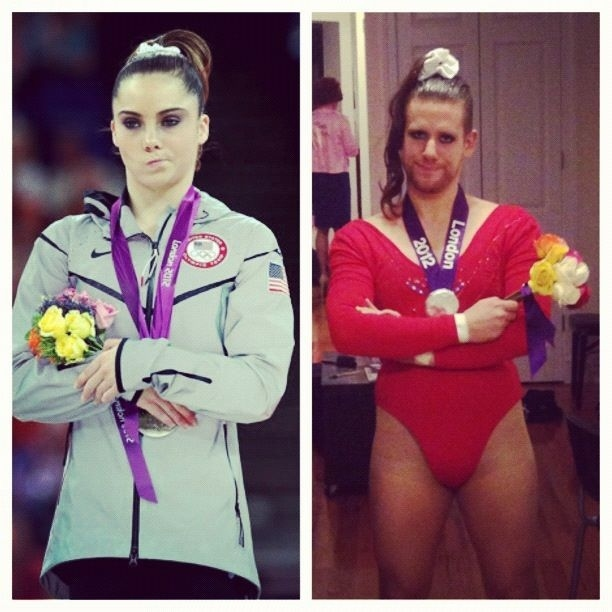 McKayla Maroney Appreciation Post (Halloween Edition)