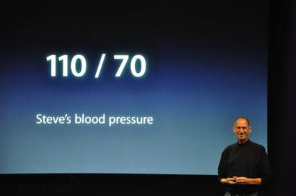 Steve Jobs' Blood Pressure