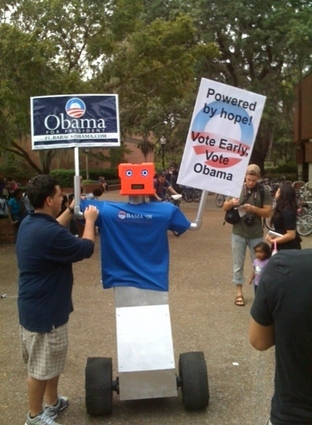 Obama Robot: Powered by Hope(?)