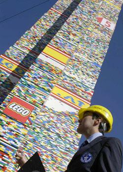 Vienna Builds World's Tallest Lego Tower