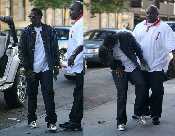 Diddy Steps In Poo