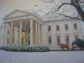 White House Chrismukah Card